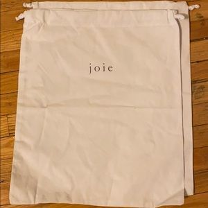 Joie dust bag in excellent condition